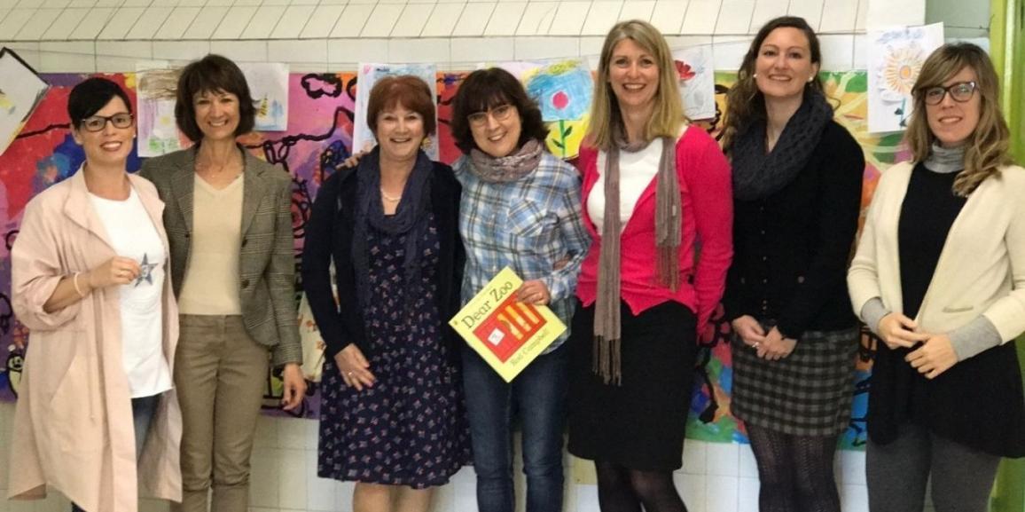 Visita de profesoras del Seaford college de Inglaterra.