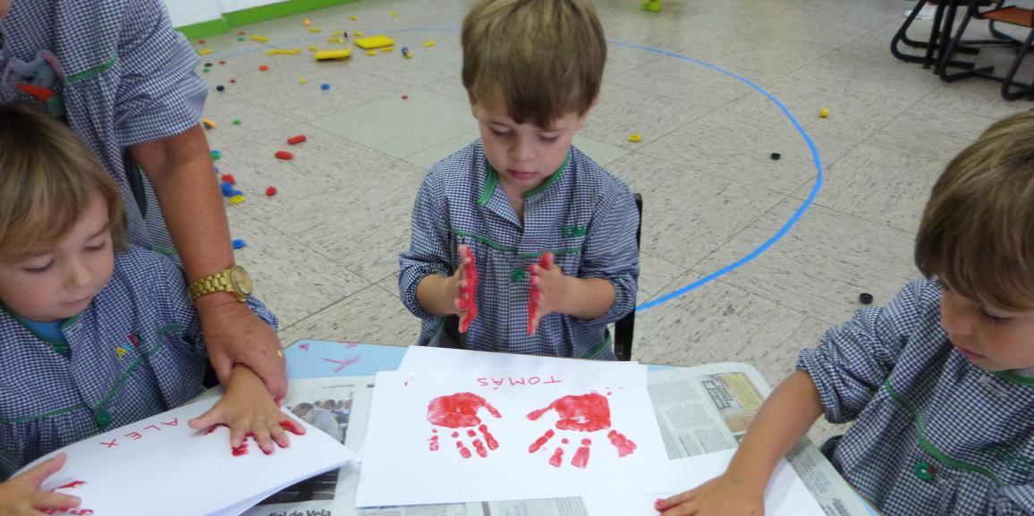 Un taller de pintura de nuestras manos.