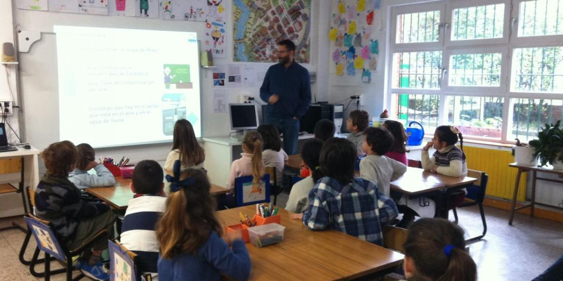 Visita: Iñaki nos cuenta como analiza la contaminación atmosférica