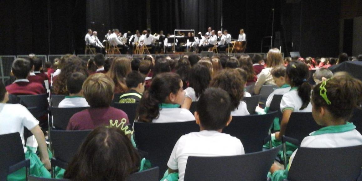 Salida: Concierto Pedagógico de la Banda Municipal