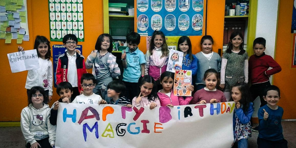 Happy Birthday Maggie!!