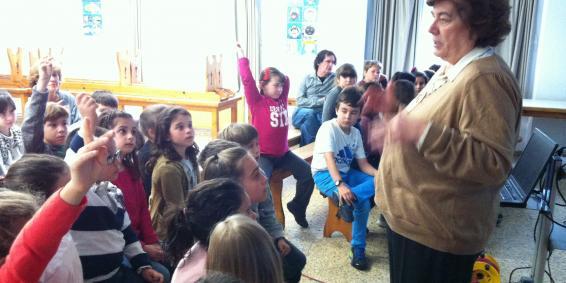 Visita: Maria Teresa Barriuso, una gran científica