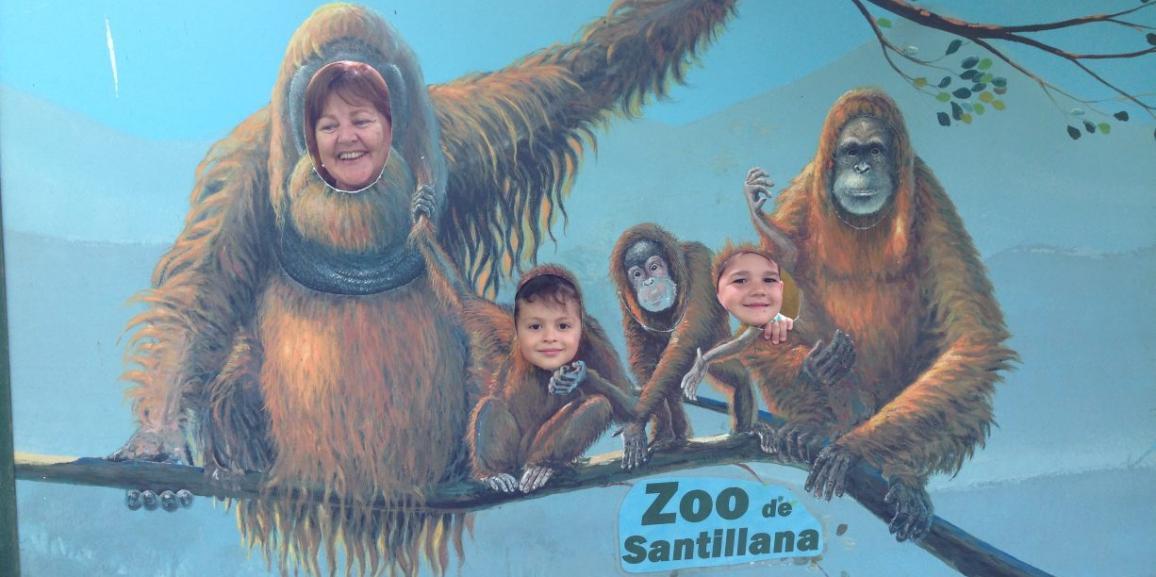 Visita al zoo de Santillana