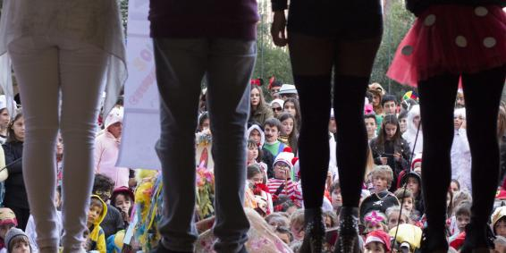 Invitación: Fiesta de Carnaval