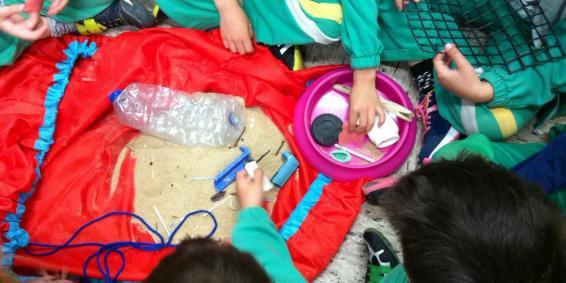 Visita: Taller de plásticos y microplásticos