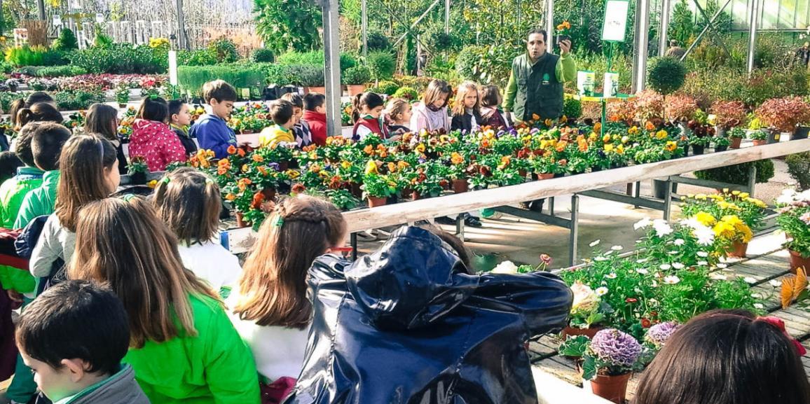 """Visita al Centro de Jardineria """"La Encina"""""""