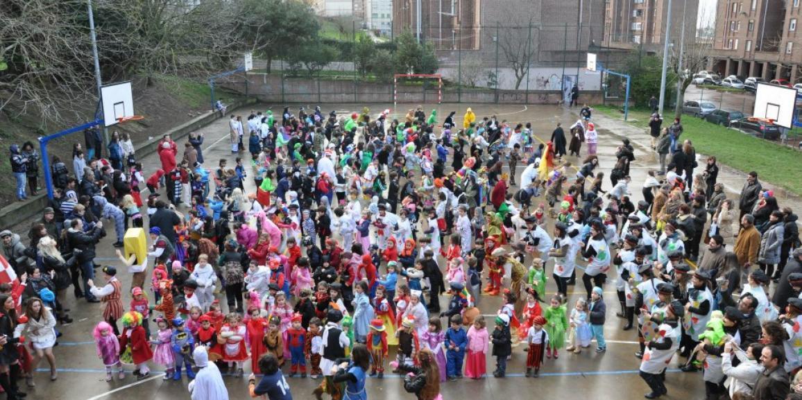 Ensayo de los bailes de Carnaval