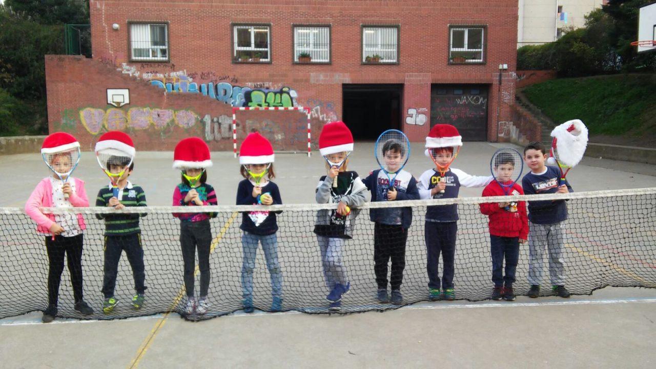 El equipo de tenis os desea ¡Felices fiestas!
